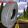 12r22.5 Tubeless Steel Radial Truck & Bus Tyre / Tyres, TBR Tire / Tires with Rib Smooth Pattern for High Way (R22.5)