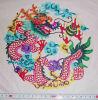 Artes populares chinos y corte de papel de los artes - dragón