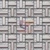 15*48*6m m Silver Crystal Mosaic (TC345)