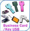 1GB 대중적인 신용 또는 명함 USB 열쇠