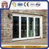 Interior exterior da vitrificação dobro queDobra 4 portas deslizantes dos painéis