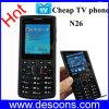 Свет факела диапазона двойной SIM квада мобильного телефона Sci TV (N26)