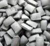 Carvões amassados feitos do metal do manganês