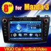 8 '' Stereolithographie des HD Auto-DVD GPS für Mazda 3