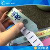 多彩で再使用可能なPVC RFIDはリスト・ストラップの札を防水する