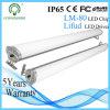 Luz blanca de la Tri-Prueba LED de la naturaleza CRI>80ra Epistar 40watt IP65 los 4ft
