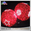屋外のHanging LED Christmas Decoration Holiday 3D Ball Decorative Lights