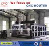 Máquina de gravura do CNC de 5 linhas centrais, máquina do Woodworking do CNC de 5 linhas centrais