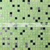 obscuridade de 15X15mm - mosaico de vidro da piscina verde da mistura (BGC031)