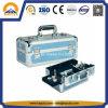 Переносная сумка для хранения косметик состава с 2 подносами (HB-3209)