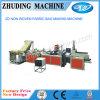 Máquina de fatura em forma de caixa não tecida