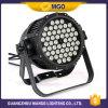 ディスコ軽いRGBWはLED 54の3W同価ライトを防水する