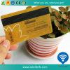 Карточка Hico пластичного ключа гостиницы Cr80 прозрачная магнитная