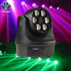 Mini 6X15W Bee-Eyes Etapa Beam Luz LED Moving Head