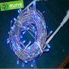 Luz da corda do diodo emissor de luz para o Natal para a decoração