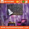 Papel pintado interior 3D del color púrpura para la hospitalidad (YS-190506)