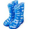 Ботинки дождя причудливый конструкции декоративные