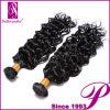 Выдвижение волос естественной черной оптовой девственницы малайзийское