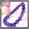 11mm Amethyst Beads Bracelet에 자연적인 7mm