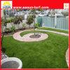 Hierba artificial de la calidad para la decoración del jardín, césped sintetizado, césped artificial de China