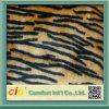Tissu 100% faux de fourrure de polyester coloré de qualité