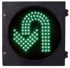 IP54緑色のUターンの交通信号の信号