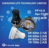 Luz vendedora caliente euro 7W del punto de 220-240V GU10 LED