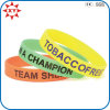 Custom Design variopinto Silicone Rubber Wristband per Decoration