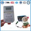 Tipo substituível medidor da bateria eletrônica de água pagado antecipadamente esperto