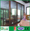Einzelnes Glazing Aluminium Sliding Glass Door mit Soncap