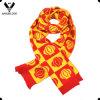 Sciarpa calda del regalo del Jacquard Lantern Pattern Winter della signora