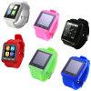 Stock Wholesales Promotion Bracelets (U8)에 Bluetooth Six Color를 가진 U8 Wrist Smart Watch Mobile Phone