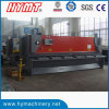 Maquinaria del corte de la maquinaria de corte de la guillotina hidráulica QC11Y-6X4000 y de la placa de acero