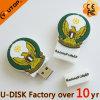 Привод вспышки USB PVC логоса Modul отверстия фабрики изготовленный на заказ (YT-BL)