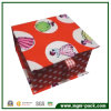 Cartoon Patterns를 가진 사랑스러운 Orange Paper Chocolate Packing Box