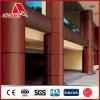 Fabricant composé en aluminium en bois de panneau de 4mm ACP PVDF