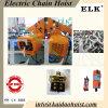 10ton jeûnent la livraison et mini grue électrique sûre de moteur de double vitesse de grue à chaînes de 2 tonnes