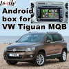 Video interfaccia di percorso Android di GPS per Volkswagen Tiguan (MQB)