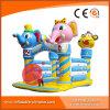 Riesiger aufblasbarer Zoo-springender Prahler mit Elefanten und Fallhammer (T1-018)