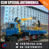 camion télescopique de grue de grue de camion de camion du camion 6t de la grue 4X2 mobile