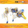Пластичное деревянное материальное оборудование спортивной площадки детей