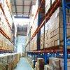 Cremagliera del magazzino del metallo verniciata polvere registrabile