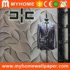 Decoratie van het Huis van het Behang van pvc van Guangzhou de Goedkope Binnenlandse 3D