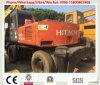 Excavador usado de Hitach Ex160wd/Hitachi Ex100wd del excavador de la rueda para la venta