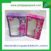 Rectángulo de papel de empaquetado modificado para requisitos particulares del regalo del rectángulo del perfume de la ventana