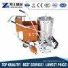 熱可塑性の道マーキング機械を熱溶かすペイントラインマーカーの構築機械装置を手で押しなさい