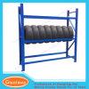Stand de pneus de véhicule de mémoire d'étalage en métal de qualité