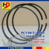 El aro del pistón del motor de PC130-7 4D95 para el anillo de KOMATSU fijó (6201-31-2201 6208-31-2100)