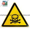 경고 교통 표지 노란 색깔 삼각형 도로 표지