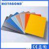 Los paneles interiores de la publicidad al aire libre del ACP, material de la muestra del Aluminio-Plástico de PVDF